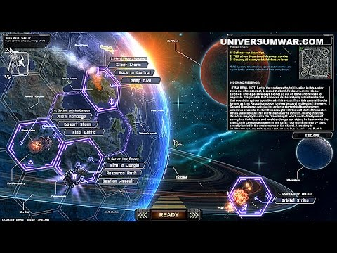 Universum War Front — GUI for Missions & Skirmish, Air Force, Survival Mode