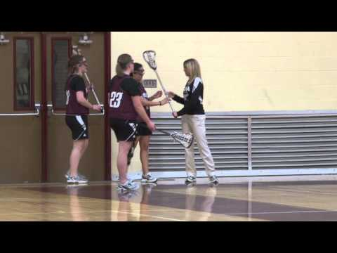 Alma College Women's Lacrosse - First Practice 2012
