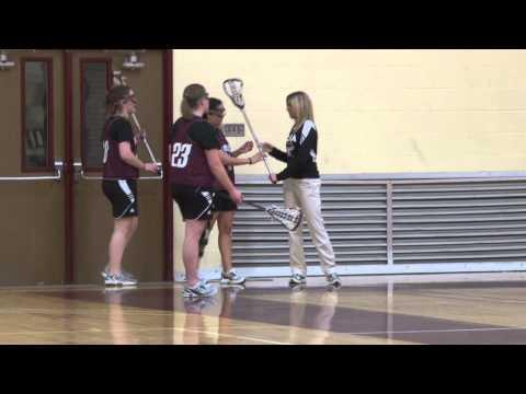 Alma College Women's Lacrosse - First Practice 2012