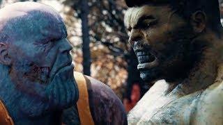 Теперь ясно, что Халк сделает с Таносом в Мстители 4: Финал