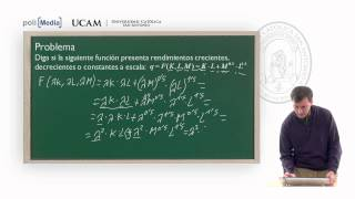 Microeconomía II - La Producción: Ejercicio Práctico (3) - Alfonso Rosa