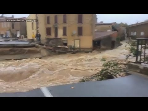 Südfrankreich: Starkregen löst tödliche Flut in aus - mindestens 13 Tote
