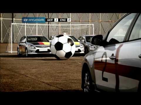 Car Football Germany V England