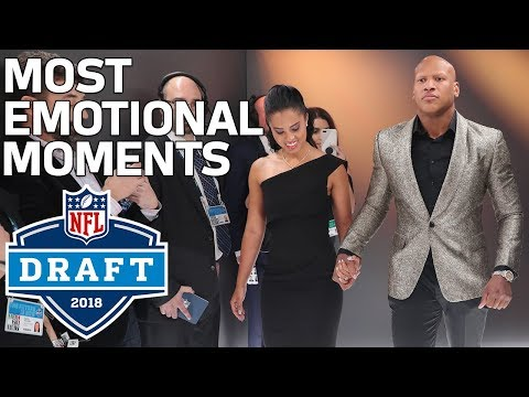Most Emotional Moments of the 1st Round  2018 NFL Draft