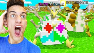 HATCHING ONLY MEGA LEGENDARY POKEMON in MINECRAFT!