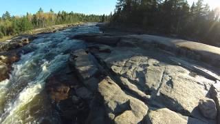 Bathurst (NB) Canada  city photos : Pabineau Falls,Bathurst NB Canada,Eflite Quadcopter,GoPro Camera