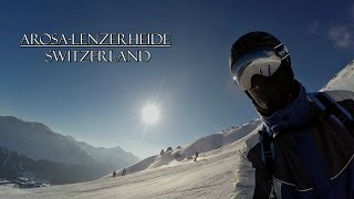 Lenzerheide Switzerland  city photos : GoPro--Arosa Lenzerheide Switzerland--Snow Weekend--2016