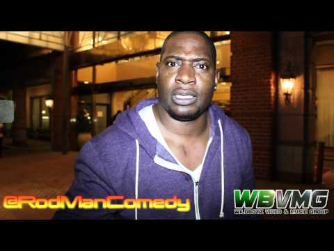 Comedian Rodman Live @ Cultural Arts Center 4-20-2012