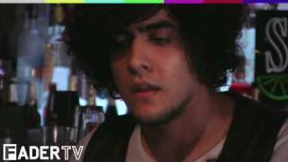 """FADER TV: At The Bar With Southern Comfort: Neon Indian, """"Mi Viejo"""""""