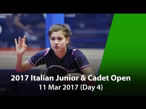 2017 ITTF Italian Junior & Cadet Open - Day 4