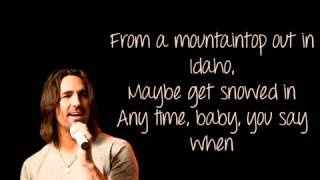 Jake Owen   Anywhere With You  Lyrics