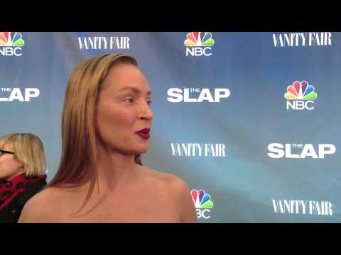 The Slap: Uma Thurman Official Premiere Interview