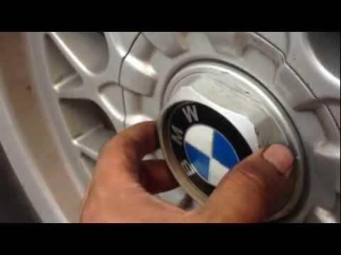 How To Remove Center HubCap On Factory Rims 97-03 BMW 5 SERIES E39 528I 525I 540I M5