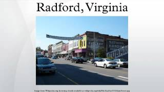 Radford (VA) United States  City pictures : Radford, Virginia