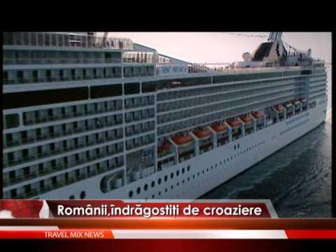 Românii, îndrăgostiţi de croaziere – VIDEO