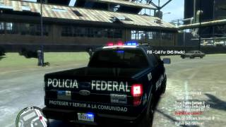 GTA 4 (PC) FORD F 150  POLICIA FEDERAL