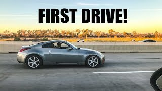 FINALLY DRIVING THE DRIFT Z! by Evan Shanks