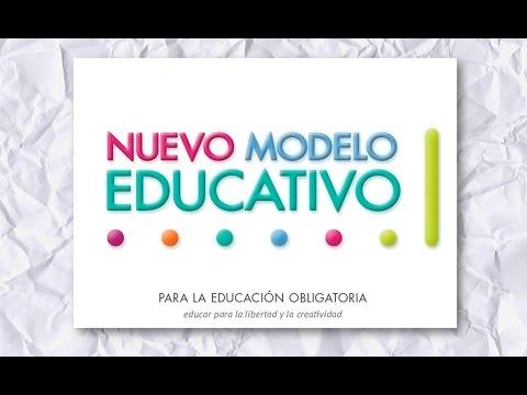 Modelo Educativo, Naturaleza y Estructura; presentado en 2017