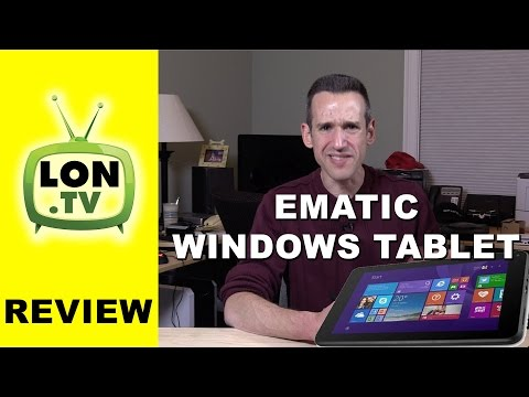 DO NOT buy the cheap Ematic Windows Tablet from Walmart - EWT716-BL HRA Review