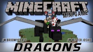Minecraft Minigame - Dragons! /w BroomyCraft & Mister Joshie