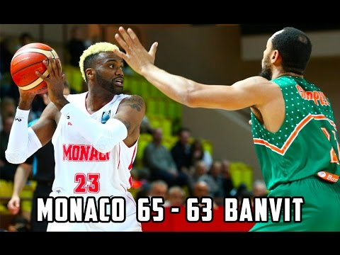 BCL — Monaco 65 - 63 Banvit — Highlights
