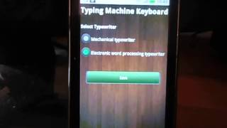 Typing Machine Keyboard YouTube video