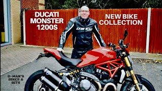 9. COLLECTING MY NEW 2018 DUCATI MONSTER 1200S