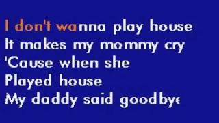 Tammy Wynette - I Don't Wanna Play House karaoke