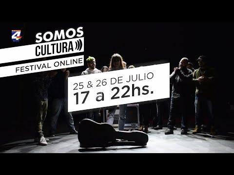 """""""Somos Cultura"""": Toque de artistas locales en el Teatro Florencio Sánchez y el Espacio Cultural Gobbi"""