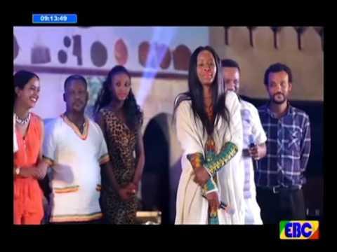 #Ethiopia ልዩ የመስቀል በዓል መዝናኛ ዝግጅት- በኮመዲያኖች እና በሞዴሎች መካከል የተደረገ አዝናኝ ጨዋታ