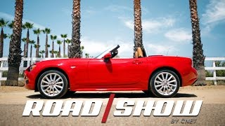 A classic Italian take on a Japanese icon: the Fiat 124 Spider by Roadshow