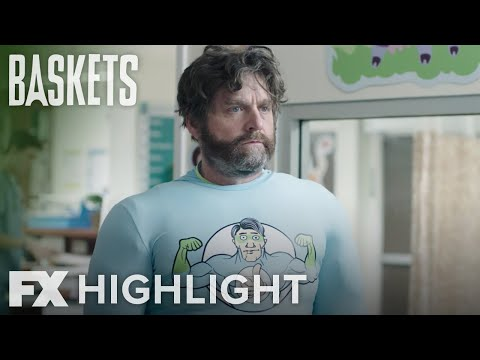 Baskets   Season 4 Ep. 7: Super Hero Man Highlight   FX