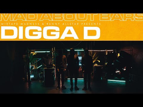 Digga D – Mad About Bars w/ Kenny Allstar (Special) | @MixtapeMadness