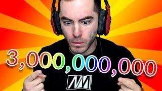 3 BILLION VIEWS O_O