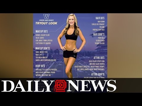 TRENDING: Tips on how to be a cheerleader gets people ANGRY!