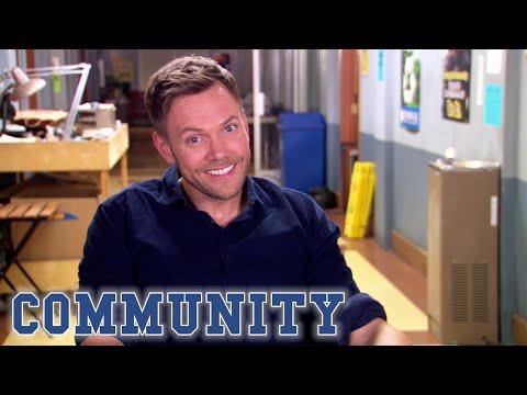 Joel McHale On Working With Jonathan Banks | Season 5 BTS | Community