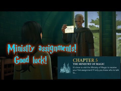 LITERALLY CHASING CREDENTIALS (like real life...) Year 7 Chapter 5: Harry Potter Hogwarts Mystery