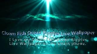 Clown Fish Ocean Ripples LWP YouTube video