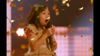 Video Cute Little Angel Earns The GOLDEN BUZZER! UNBELIEVABLE VOICE | Judge Cut 3 | AGT 2017 MP3, 3GP, MP4, WEBM, AVI, FLV Februari 2018
