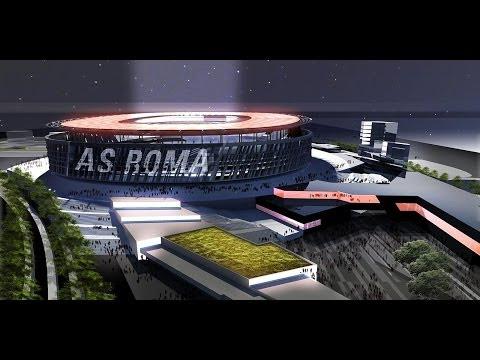 ecco come sarà il nuovo stadio della a.s. roma (ricostruzione 3d)