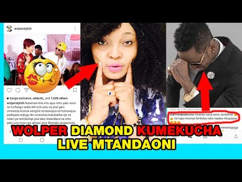 Video JACQUELINE WOLPER na DIAMOND PLUTNUZ Kumekuchaaa LIVE Mtandaoni Wafungukiana HISIA ZAO download in MP3, 3GP, MP4, WEBM, AVI, FLV January 2017