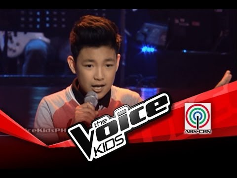 "The Voice Kids Blind Audition ""Domino"" by Darren"