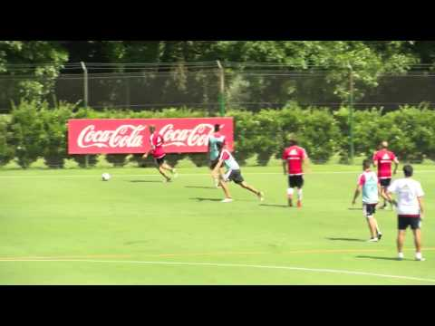 Entrenamiento en River Camp (06/12)