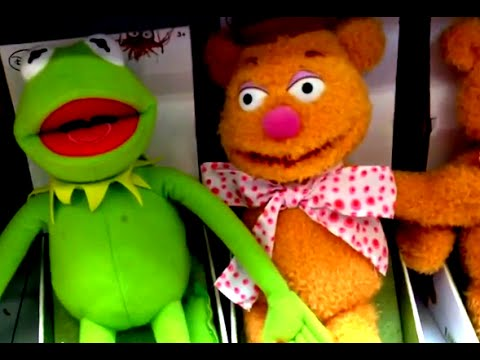 KERMIT THE FROG & FOZZIE BEAR from THE MUPPET MOVIE Plush Dolls