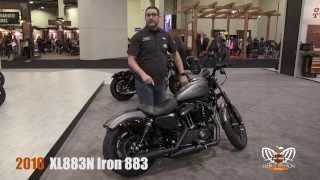 9. New 2016 Harley Davidson Iron 883 Motorcycle