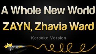 Download Lagu ZAYN, Zhavia Ward - A Whole New World (Karaoke Version) Mp3