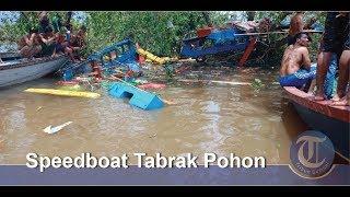 Video Speedboat Tabrak Pohon di Sungai Musi | 7 Orang Tewas MP3, 3GP, MP4, WEBM, AVI, FLV Maret 2019