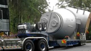 Grafton Australia  City new picture : C501 & T908 Push Pull - Jabralter Range - Grafton - Australia - Heavy Haulage