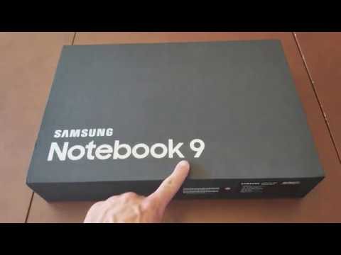 Samsung Notebook 9 15 Inch (2017 Edition) - Unboxing and Initial Review