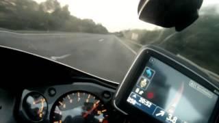 7. Hayabusa top speed GPS 347Kmh